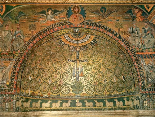 Mosaic of San Clemente, 11th Century CE